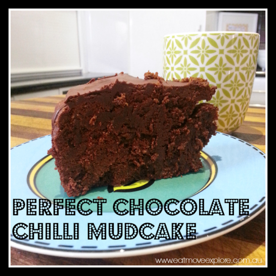 Chocolate chilli mudcake