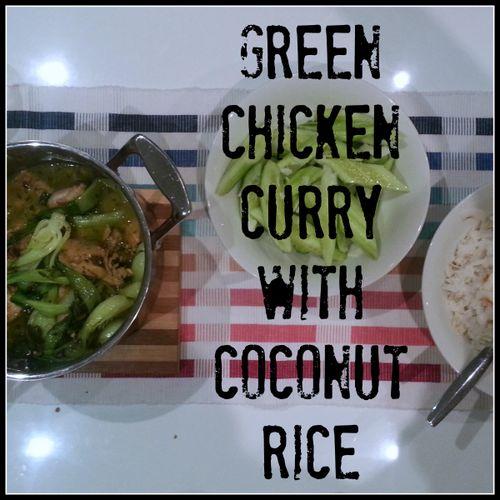 Best Green Chicken curry