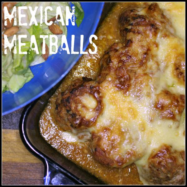 Mexi meatballs