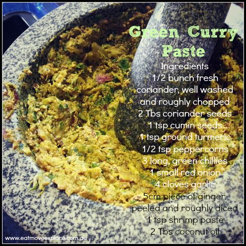 best Green curry paste