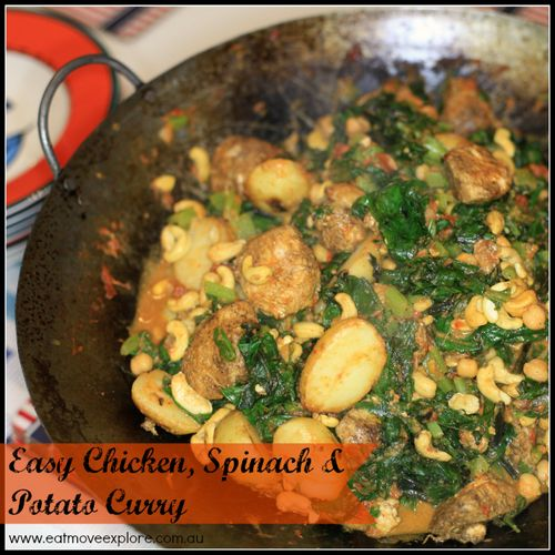 Chicken & veg curry