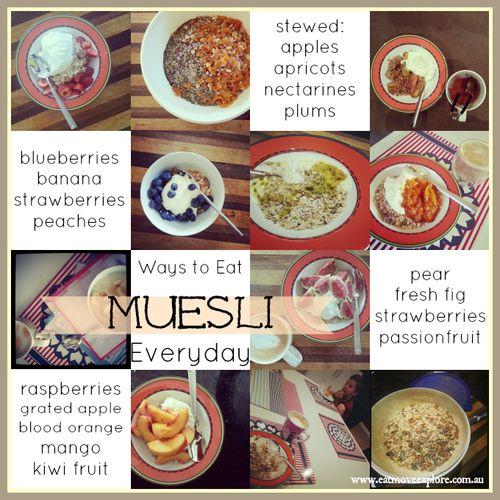 Best Homemade Muesli